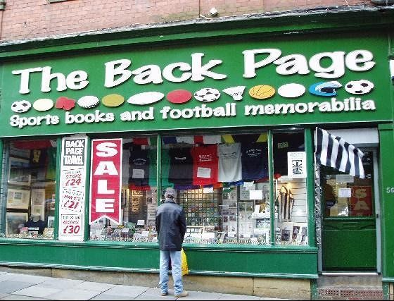 The Back Page, Newcastle - Newcastle upon Tyne