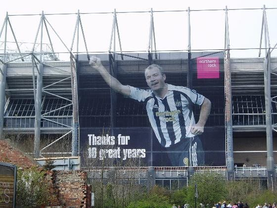 Local hero, St James' Park - Newcastle upon Tyne