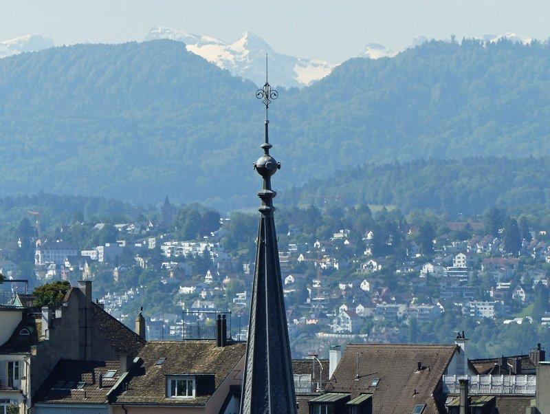 View over Zurich