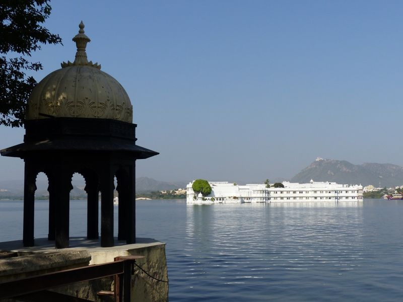 Lake Pichola from near City Palace - Udaipur