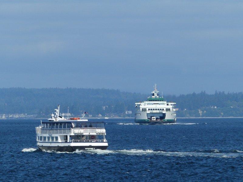 Ferries in Puget Sound, Seattle
