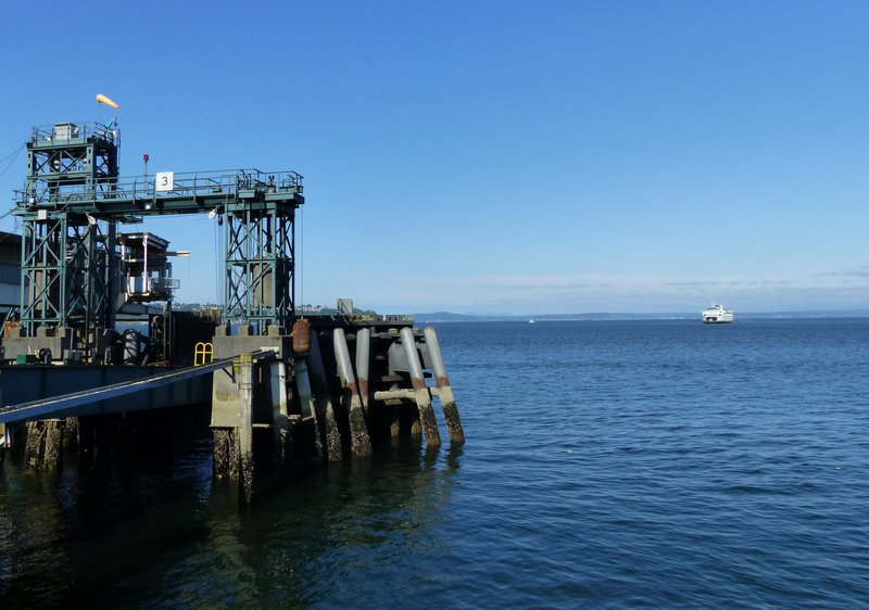 Ferry terminal, Seattle