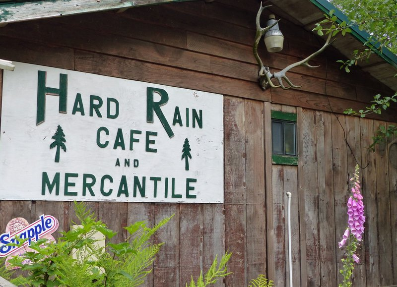 Hard Rain Cafe in the Hoh Valley