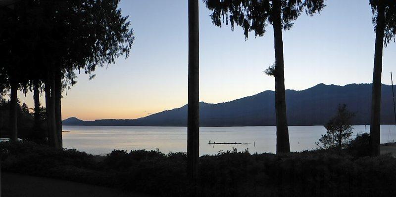 Sunset at Lake Quinault