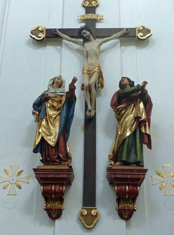 In St Lorenz Basilica, Kempten