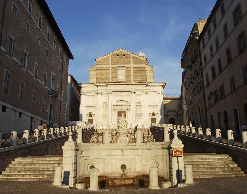 Piazza del Papa and San Domenica - Ancona