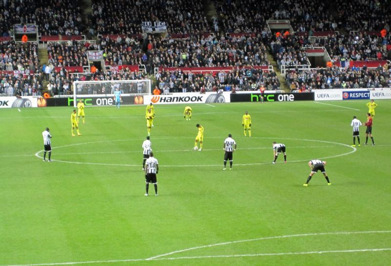 Newcastle v Anzhi March 2013 - Newcastle upon Tyne