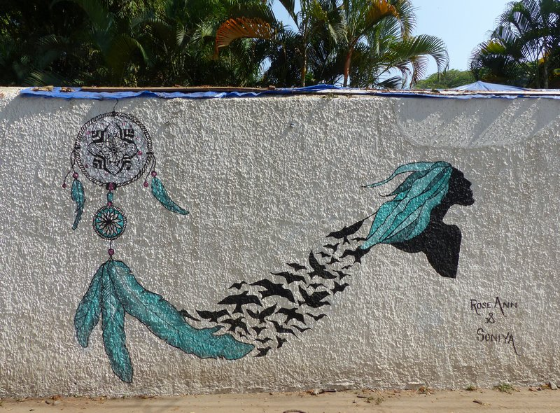 Mural, Fort Cochin