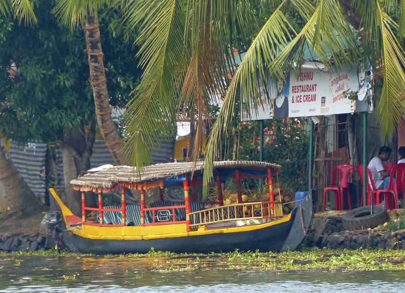 On the Kerala backwaters