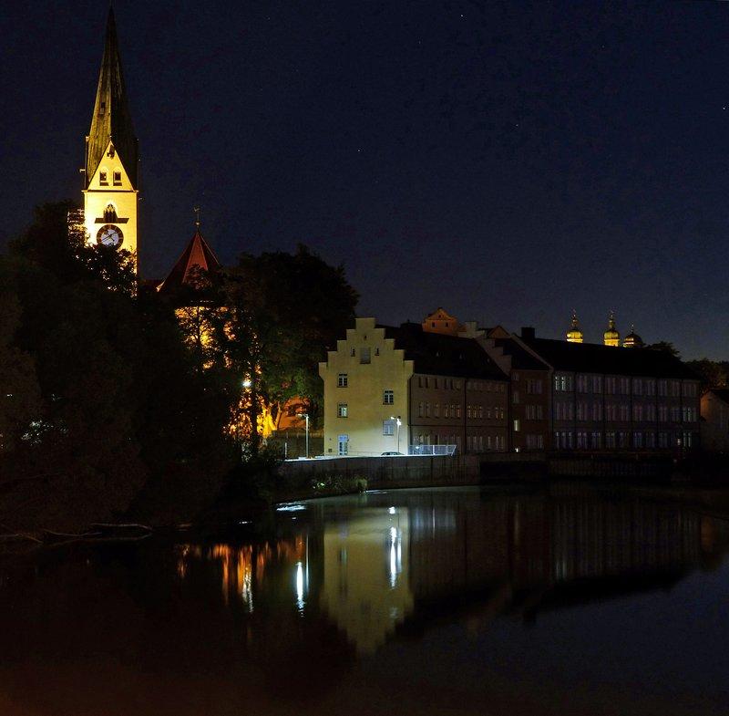 Kempten at night