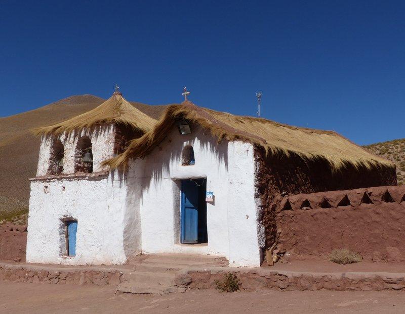 Village church, Machuca