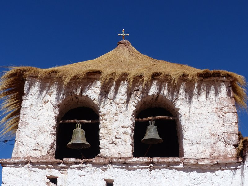 Bell tower, village church, Machuca