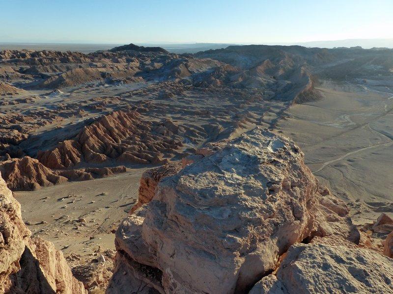 Valle de la Luna from the Mirador de Kari