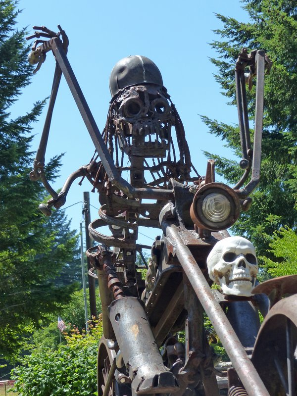 Recycled Spirits of Iron, Ex Nihilo Sculpture Park