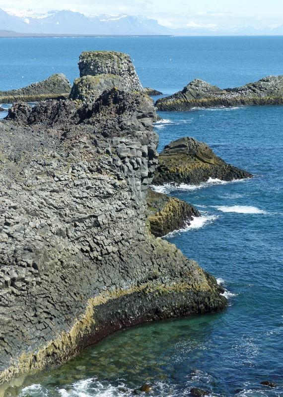 The cliffs at Arnarstapi