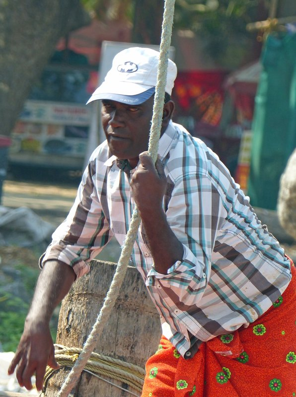 Fisherman, Fort Cochin