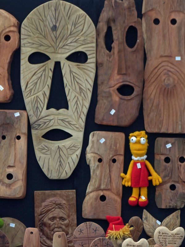 Craft market, Puerto Varas
