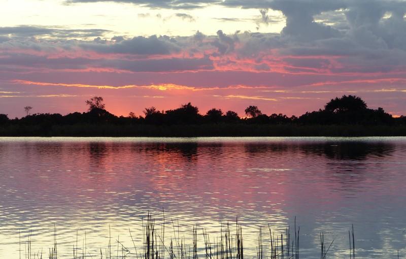 Another Okavango sunset