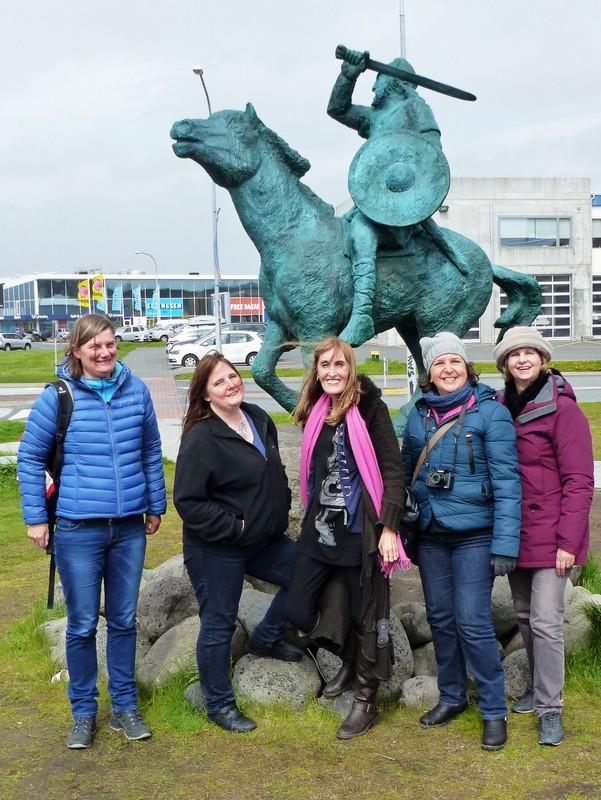 At the Saga Museum, Reykjavik