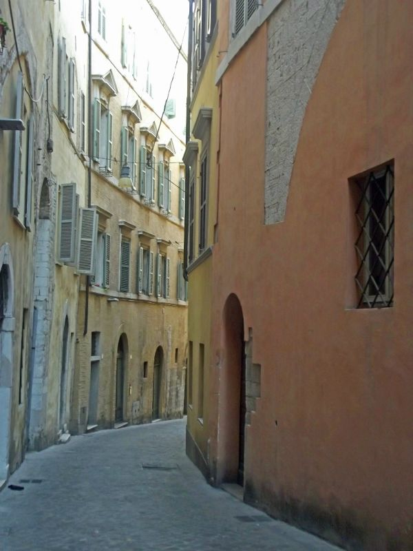 Exploring the old town - Ancona