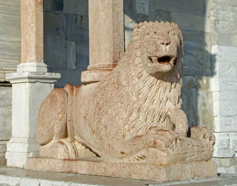 Marble lion - Ancona