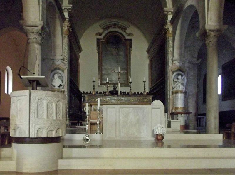 Main altar - Ancona