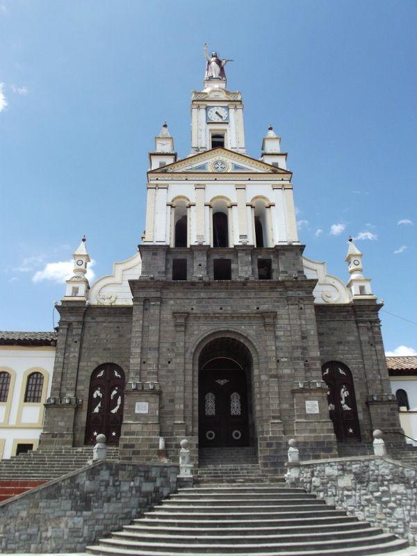 Church in Cotacachi - Ecuador