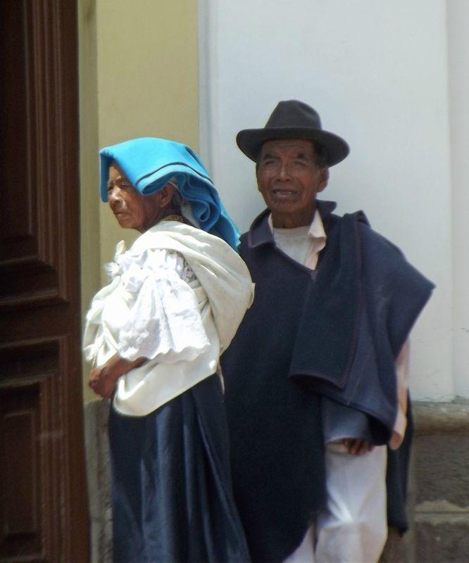In Cotacachi - Ecuador