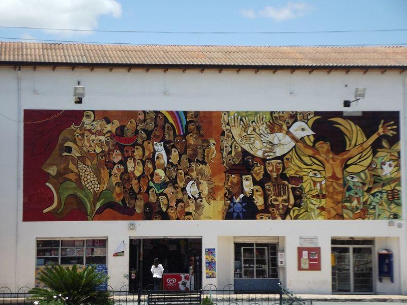 Mural in Cotacachi - Ecuador