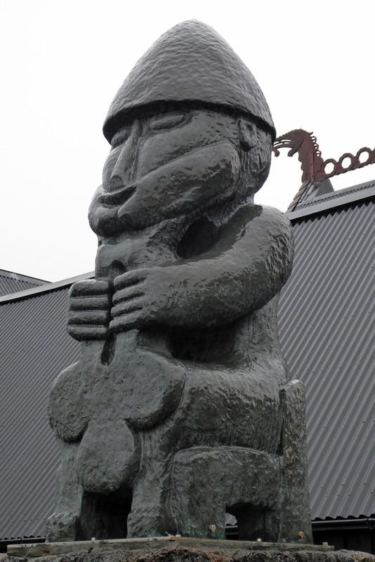 At the Viking Village, Hafnarfjördur