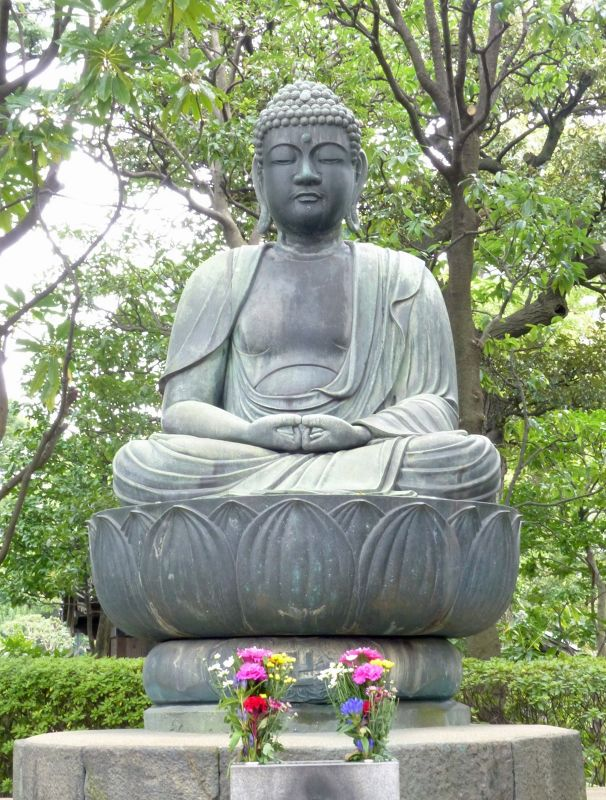 In the grounds of Senso-Ji, Asakusa, Tokyo