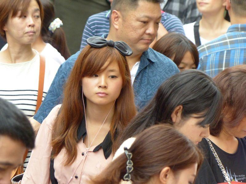 Face in the crowds, Takeshita Dori - Tokyo