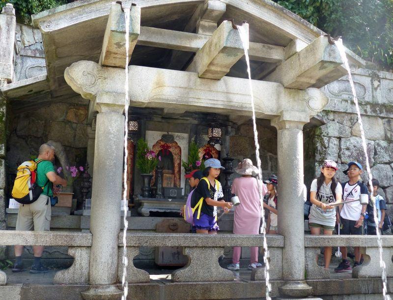 Otowa water fountain, Kiyomizu-dera - Kyoto
