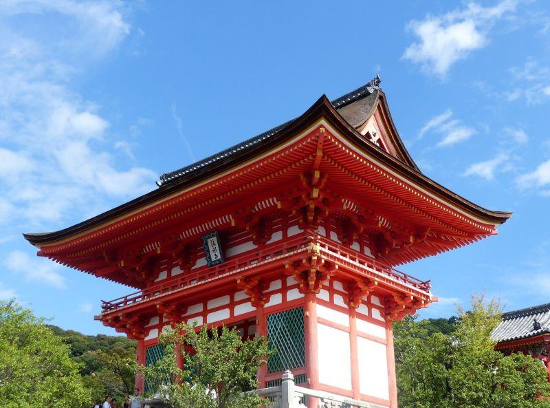 Nio-mon, Kiyomizu-dera - Kyoto