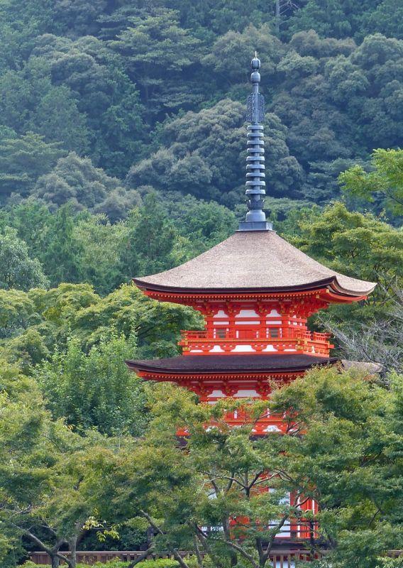 View from the veranda, Kiyomizu-dera - Kyoto