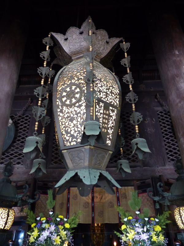 Main hall lantern, Kiyomizu-dera - Kyoto