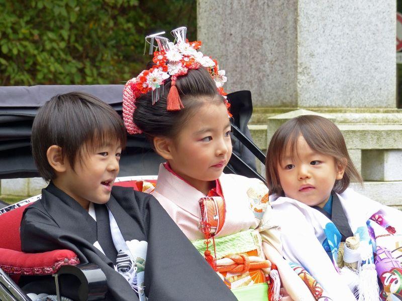 Children's festival at Futarasan - Nikko