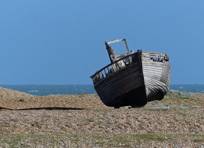 Old fishing boat, Dungeness