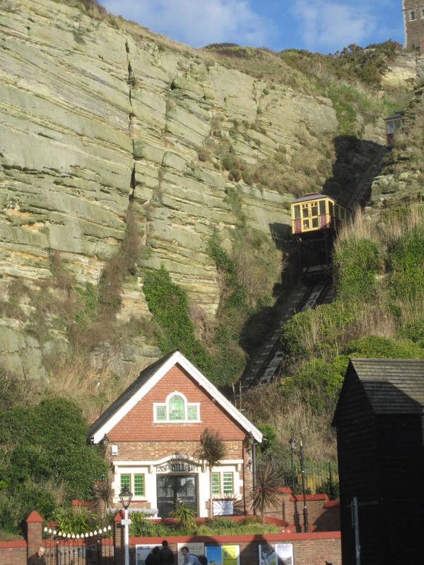 East Cliff funicular, Hastings