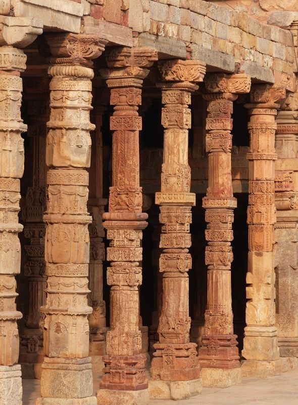 Mosque ruins, Qutb Minar - Delhi