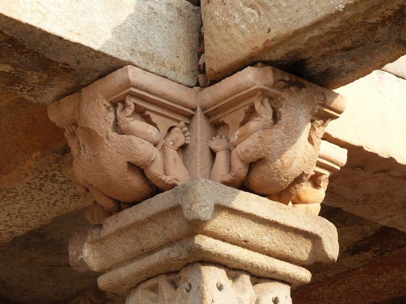 Mosque ruins detail, Qutb Minar - Delhi