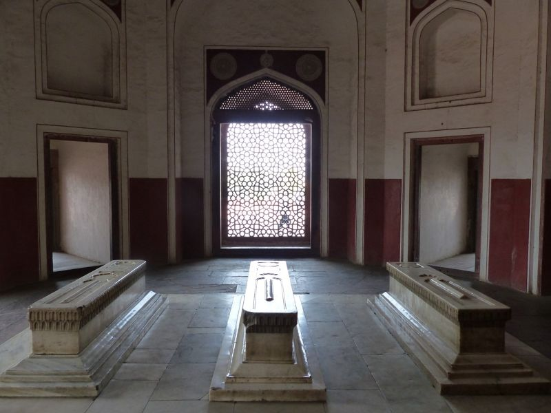 Humayun's Tomb, one of the side chambers - Delhi