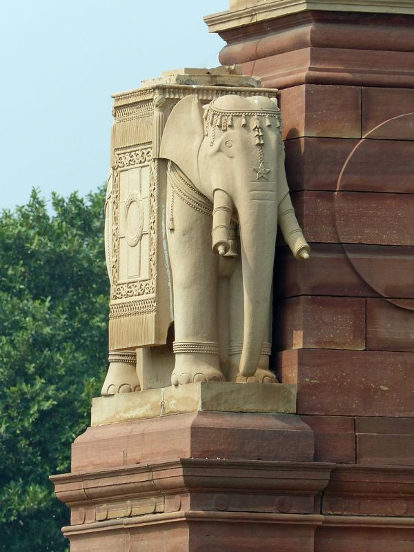 Presidential Palace complex - Delhi