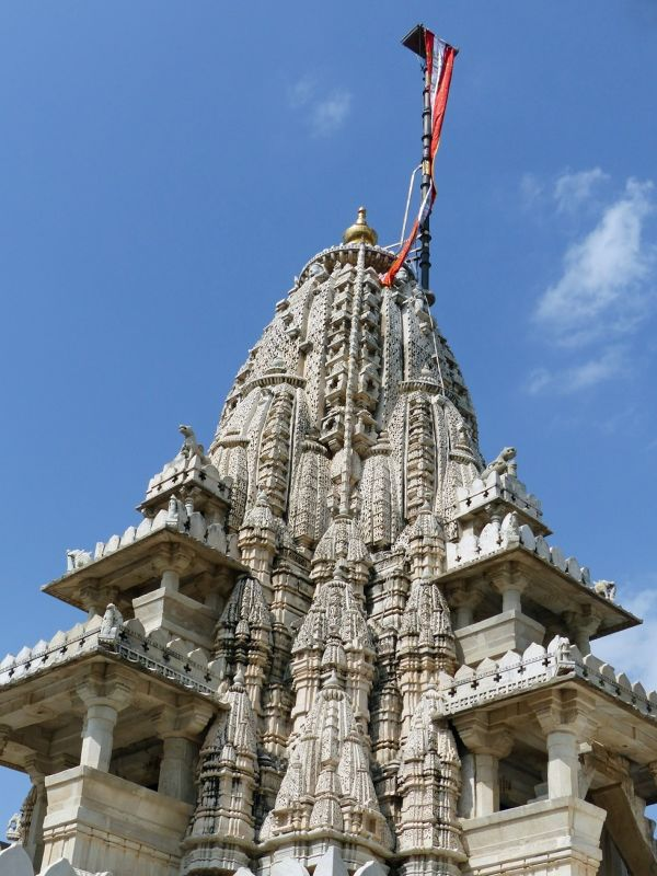 Temple roof detail - Ranakpur