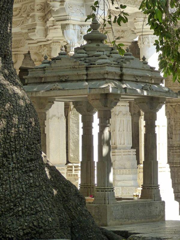 In the temple - Ranakpur