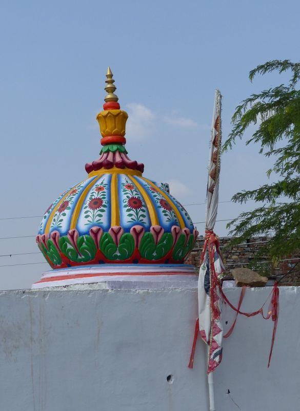 Village temple - Chittaurgarh