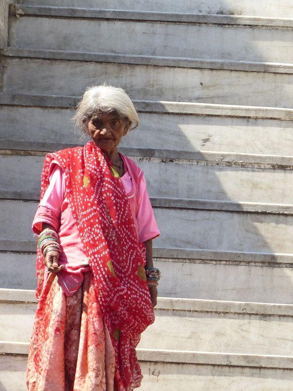 On the steps of Jagdish Temple - Udaipur