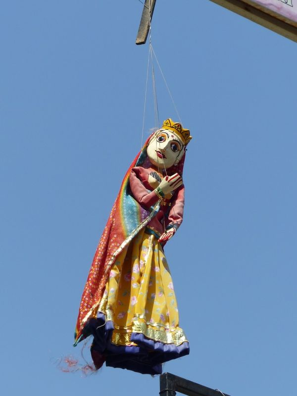 Puppet for sale, City Palace Road - Udaipur