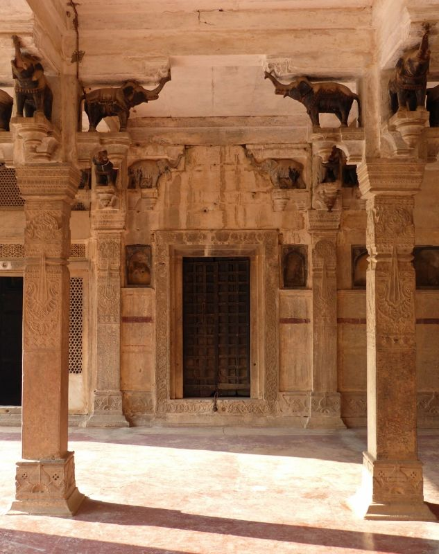 Hall of Private Audience - Bundi Palace