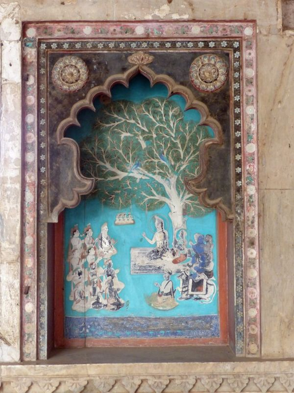 In the Chhatra Mahal - Bundi Palace